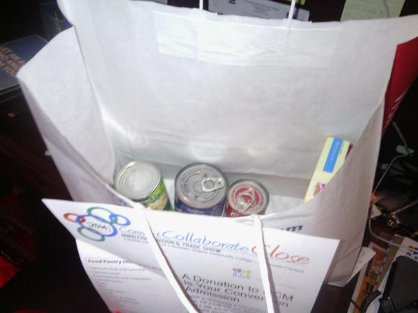 Who's getting ready for the #NVARConvention? #ThisMoi! Great idea to bring donations to #foodpantry.