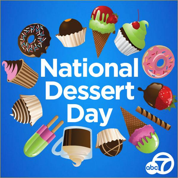 Happy national dessert day! what's your favorite sweet ...