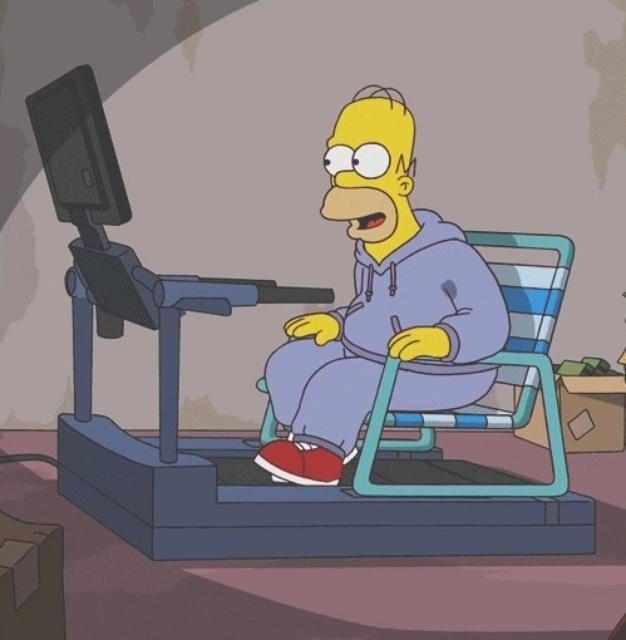 Wish This was how the gym worked hahaha http://www.lasula.co.uk #Funny #Treadmill #Gym #Fitness #Simpsonspic.twitter.com/JR7jzVvtX2
