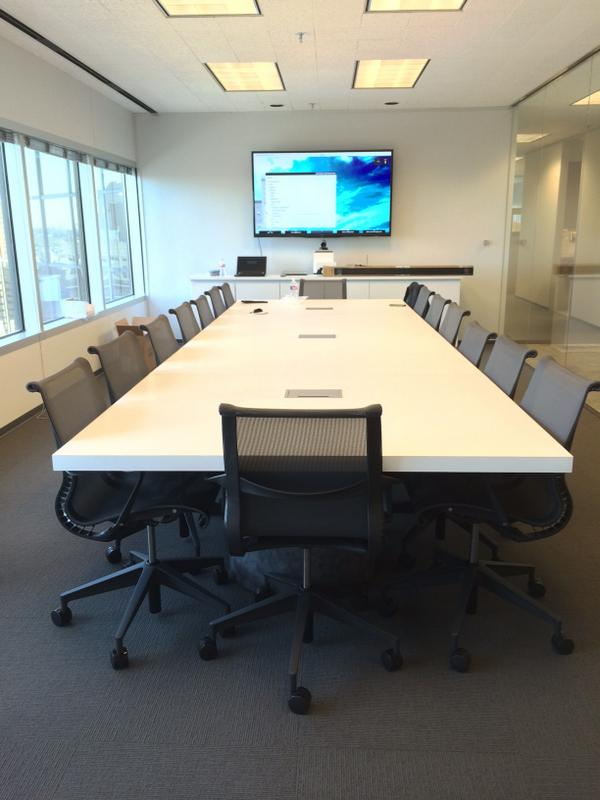 Conference Table On Twitter Ft Modern White Conference Table - 7 ft conference table