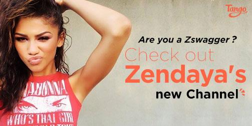 Excited to have @Zendaya on #TangoChannels Start following her today! http://t.co/5yQ1p4rdEY