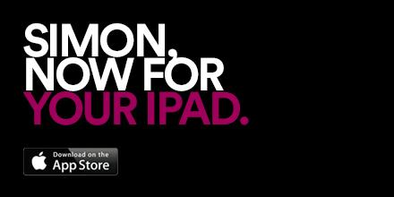 Simon, now for your iPad. Upgrade your shopping experience with our free app: http://t.co/0VmQhKYYpp http://t.co/9gIcK7TS7o