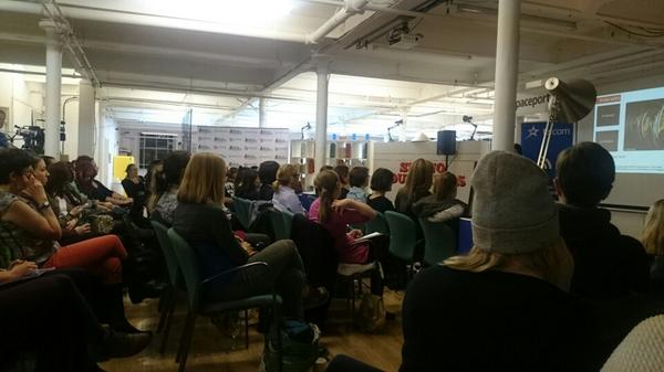 Celebrating #adalovelaceday #ald14 at #300secs @SpaceportX Supporting ladies speaking... https://t.co/nJnpMsnQpb http://t.co/OyGKzVSDhJ