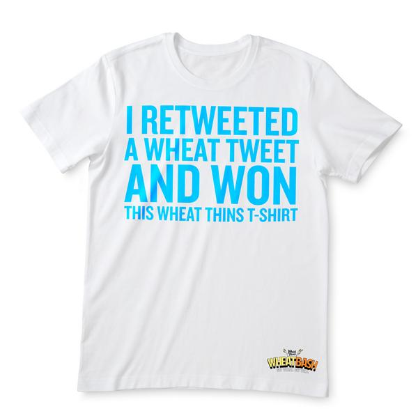 Celebrate Wheat Bash in style. RT this & we'll pick 5 lucky people to wear this t-shirt home. #WheatThinsSweepsEntry http://t.co/DWSgj1Gp9R