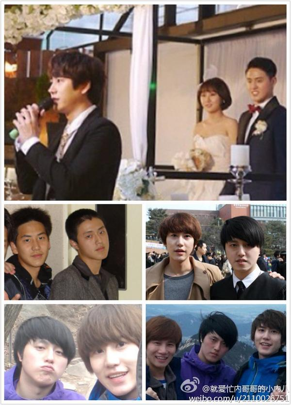 Cindy Love On Twitter Gyuhaebiased Fans Guess Kyuhyun Attended Kim Ueno S Wedding He Is Kyu Best Friend From High School Till Now