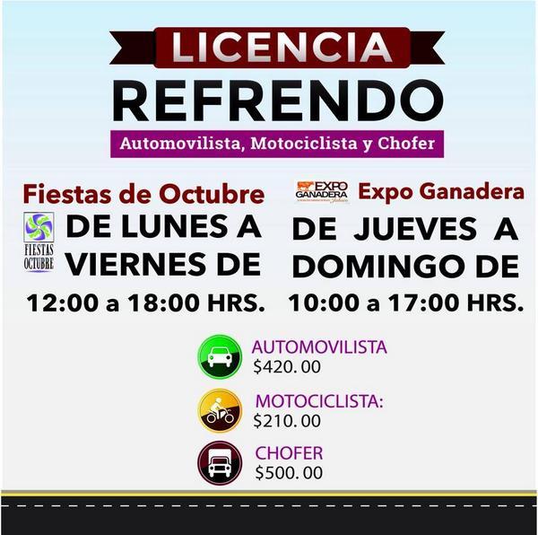 Gobierno De Jalisco On Twitter Refrenda Tu Licencia De