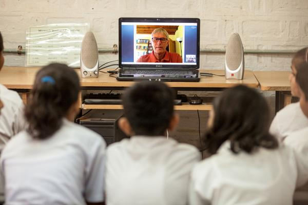 This retired schoolteacher spends his free time Skyping with Indian schoolkids http://t.co/5YfdW66Iy8 http://t.co/KwfSk5en7r