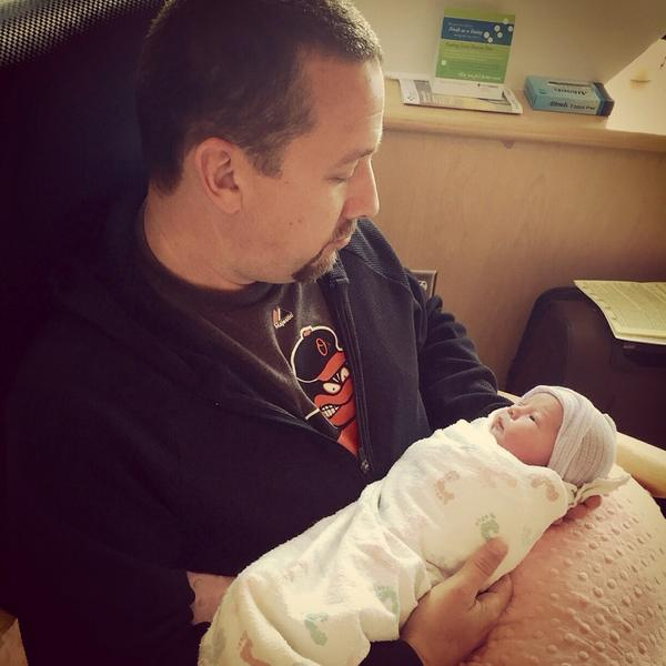 This little lady entered my world today #toozdeebaby http://t.co/rEXqOtcMuZ