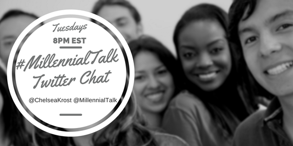 If you want a weekly reminder of #MillennialTalk- Subscribe here http://t.co/t7UAjr9xHH  #TwitterChat #Millennials http://t.co/DmRpdSCreD