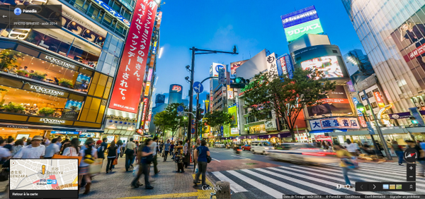 Petite balade virtuelle à Shibuya avant la vraie ! :-) #JapAJSPI https://t.co/RYXpluEmTN http://t.co/TB06g7eGUV