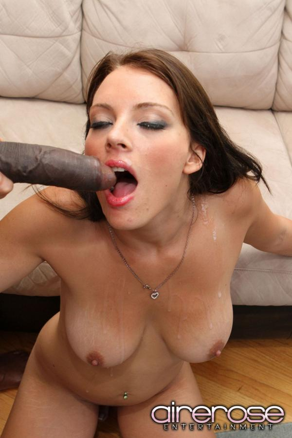 Airerose kayla west and a big black cock 3