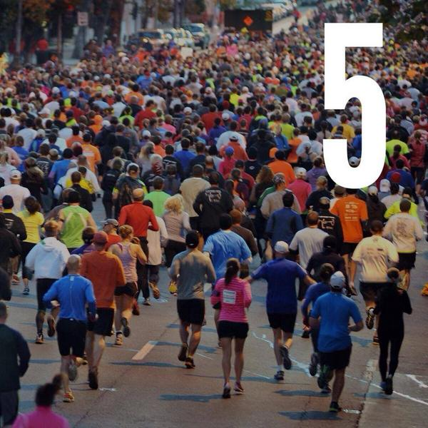 Five days until you and 18,000 of your closest friends hit the streets of Columbus. http://t.co/5QQqsInMIC