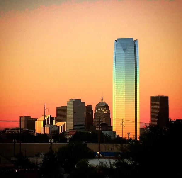OKC skyline http://t.co/u7WSZyQ3PS
