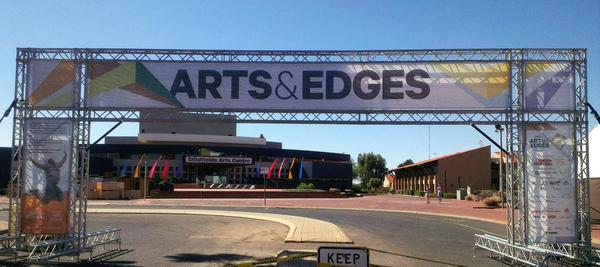 Arts and Edges banner - from the Regional Arts Summit @raasummit on Twitter