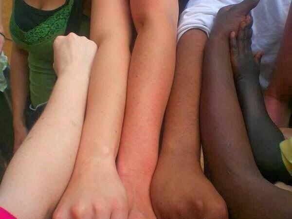 """""""@jojokejohn: We are all one and yet we are all unique http://t.co/CTQRkI2cet"""" all coffee with various amounts of cream!!"""