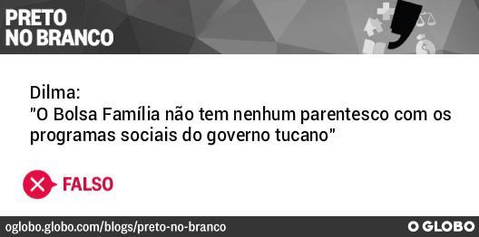 #PretonoBranco checa frase de @Dilmabr sobre origem do Bolsa Família. http://t.co/chgRigzaFu #DebatenaBand http://t.co/mlWejy8peD