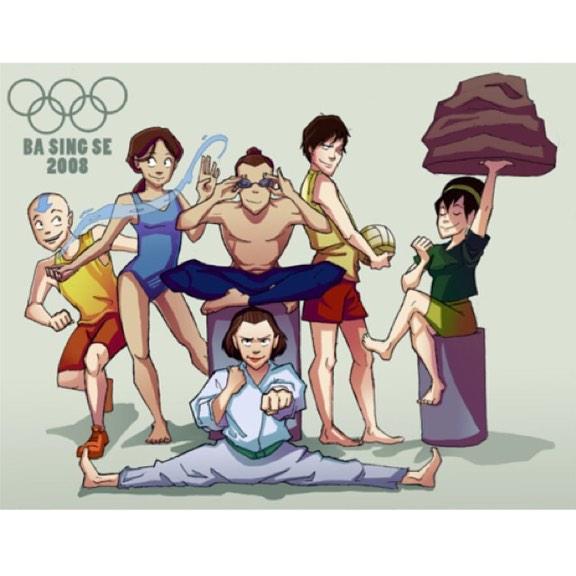 "Avatar/LoK Stuffs On Twitter: ""#aang Running #sokka"