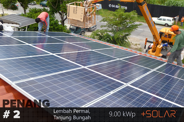 +SOLAR 9kWp installation at Tanjong Bungah, Penang. Check that out https://t.co/Ayu5ZmVYaL #Solar #Malaysia #GoGreen http://t.co/g8hhJiigFb