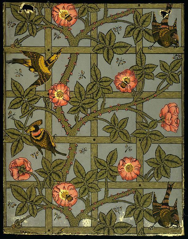 RT @V_and_A: William Morris died #onthisday in 1896. His legacy lives on through his wallpaper, textile and tile designs. http://t.co/kCVH4…