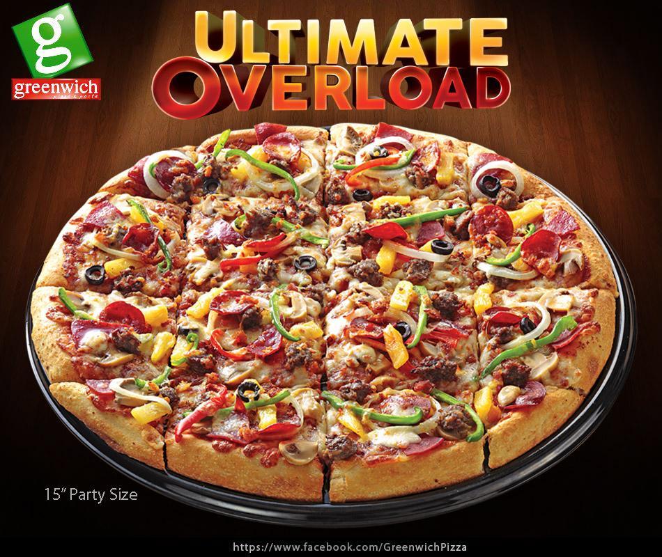 Friends Pizza Restaurant Menu