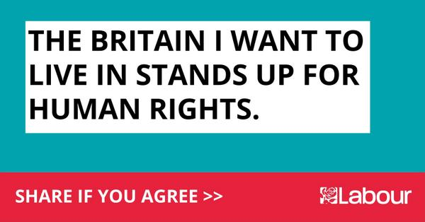The Britain I want to live in stands up for #HumanRights. RT if you agree. http://t.co/BUCaEcAbOB