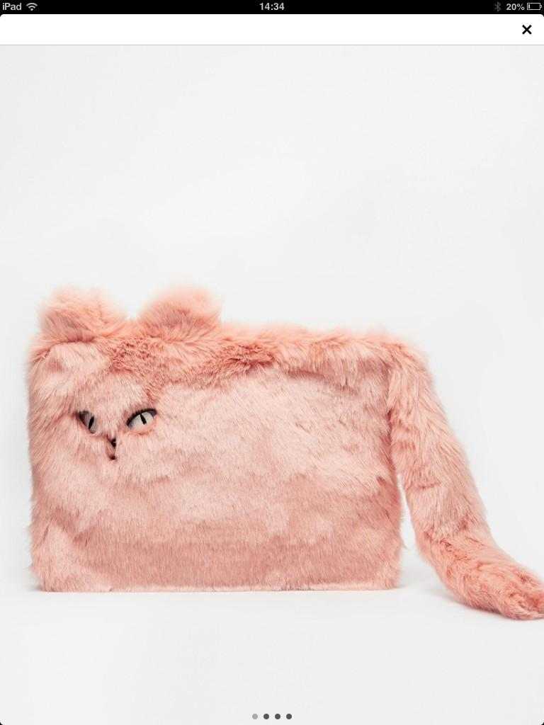 Errrr...was just browsing asos and see this LOL ...worst bag ever....it's a flat cat?!? #wtf http://t.co/z0m16xisLa