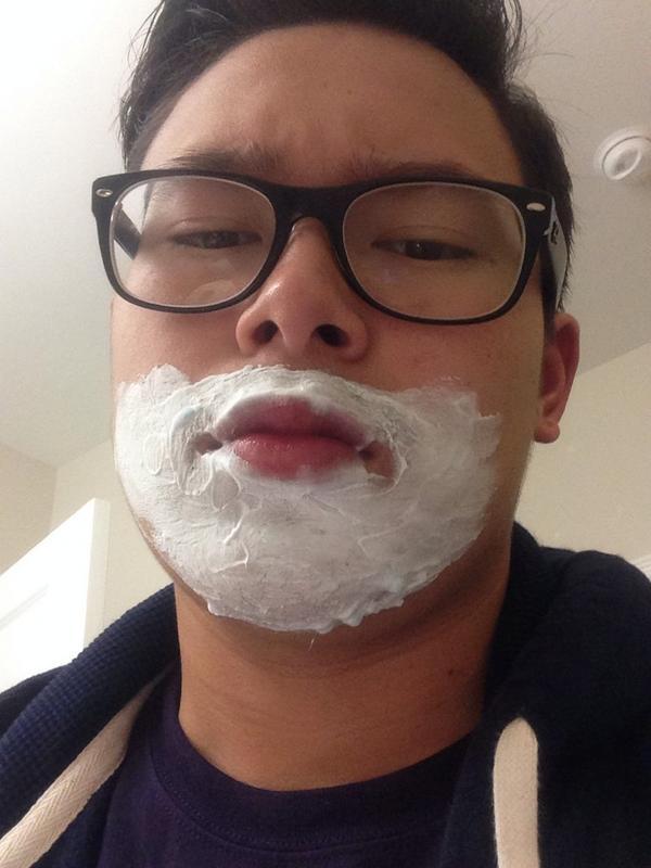 how to grow facial hair asian
