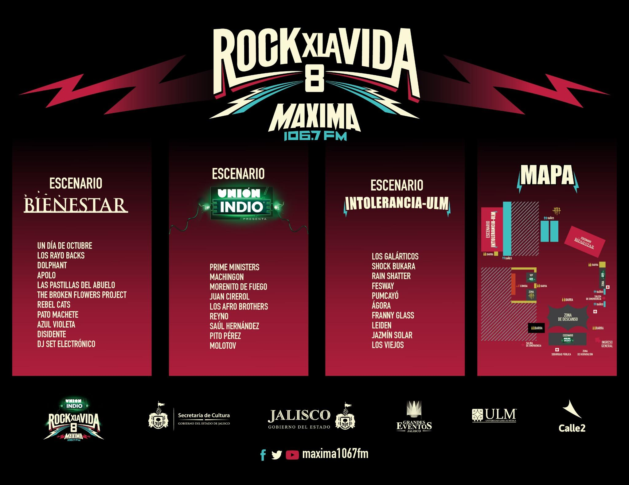 Rock And Vida 2014 Rock Por la Vida on Twitter