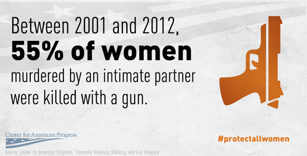 Domestic violence + guns = a deadly combination http://t.co/ufiN8QHlZj #ProtectAllWomen http://t.co/FH9AL654eQ