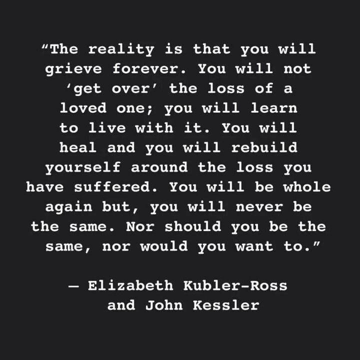 John Fugelsang On Twitter On Grief And Loss Elizabeth Kubler Ross John Kessler