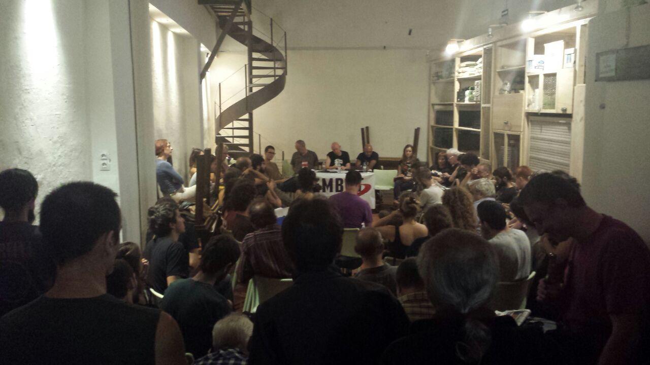 Presentació Ateneu La Base, Barcelona, 03-10-14