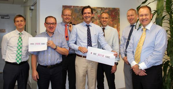 Men of @FinlandUN support #GenderEquality strongly. Finland is @UN_Women `s top donor. #HeForShe http://t.co/2tFNuypxP3