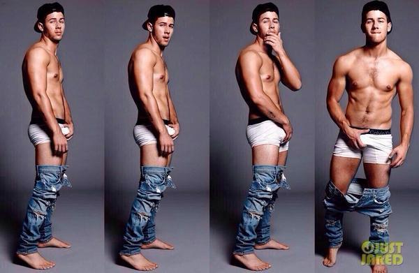 Guys undressed