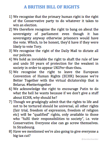 This Tory proposal for a British Bill of Rights has got a lot going for it http://t.co/DhGnrbZD7N