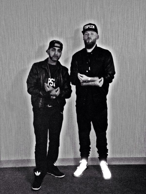 Your Dj and your mc for tonight @ITSOB #TOPSZN #OVO in Hamilton tonight. http://t.co/wevcGbMhJV