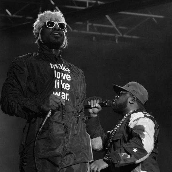 The South got somethin' to say! @OutKast @BigBoi #OutKast20 #ACL2014 @ACLFestival #MarcoAtACL http://t.co/9VYzYbOsFD