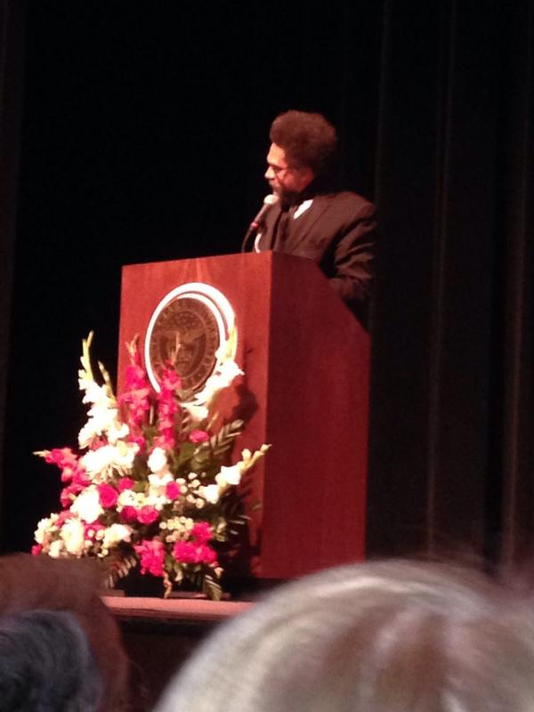 Thumbnail for Cornel West at Santa Clara University