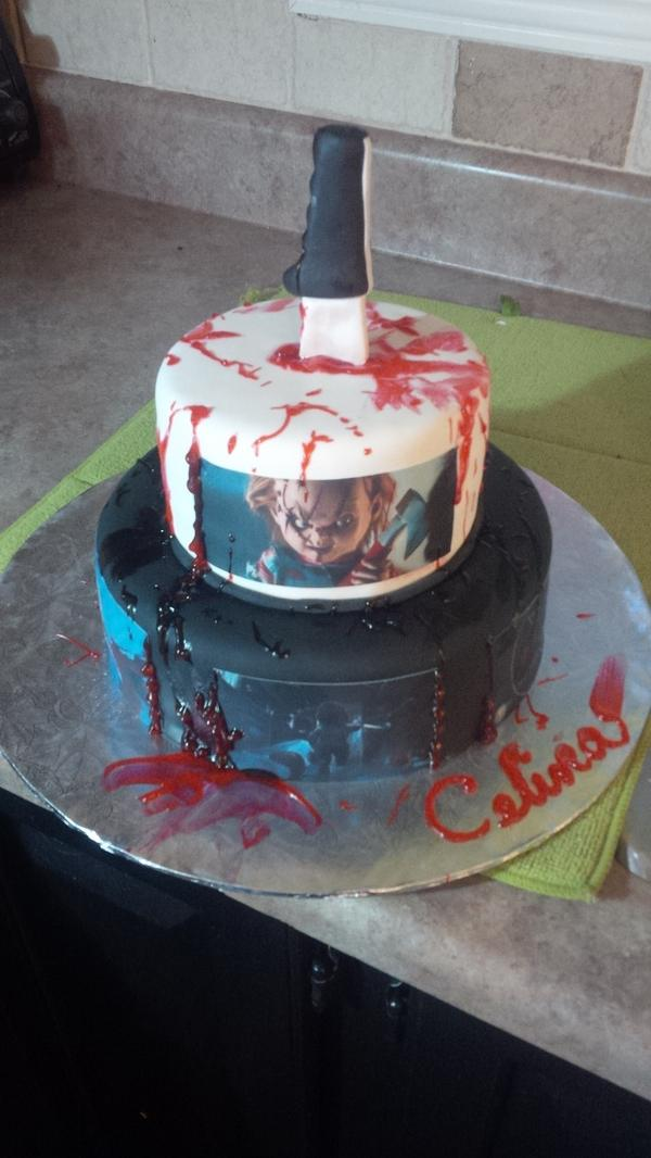 Melissa Pushman On Twitter Last Minute Chucky Cake Httpt