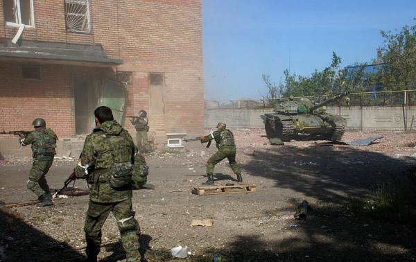 Стрельба в Донецке: утром залпы были слышны во всех районах города - Цензор.НЕТ 3150