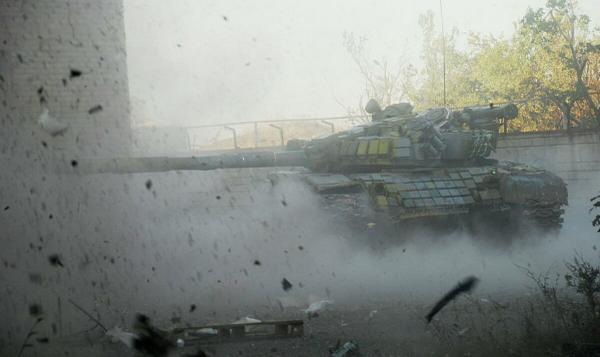 Стрельба в Донецке: утром залпы были слышны во всех районах города - Цензор.НЕТ 3779