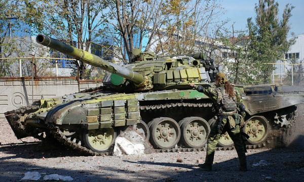 Стрельба в Донецке: утром залпы были слышны во всех районах города - Цензор.НЕТ 1553
