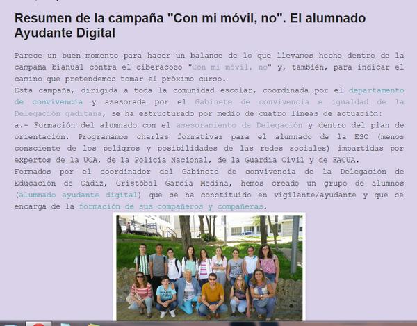 #RAEEP la experiencia del @iessjuandedios en #JornIGUALDADCádiz http://t.co/1IOpvlNpav http://t.co/Y3ysxGsChM