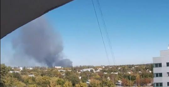 Стрельба в Донецке: утром залпы были слышны во всех районах города - Цензор.НЕТ 2662