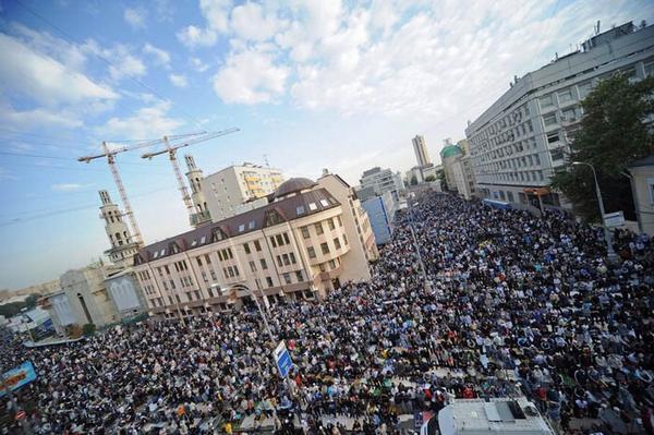 Чубаров поздравил мусульман с праздником Курбан-байрама, напомнив, что Крым - часть Украины - Цензор.НЕТ 3268