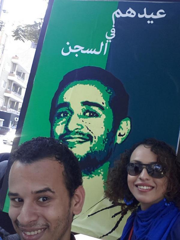 سيلفي مع دومة #عيدهم_في_السجن http://t.co/sVLTcU65sk