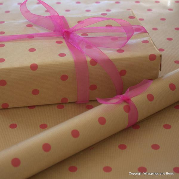 Baby Prints Pink Cellophane Gift Hamper Wrap 10 Metres Wrappings And