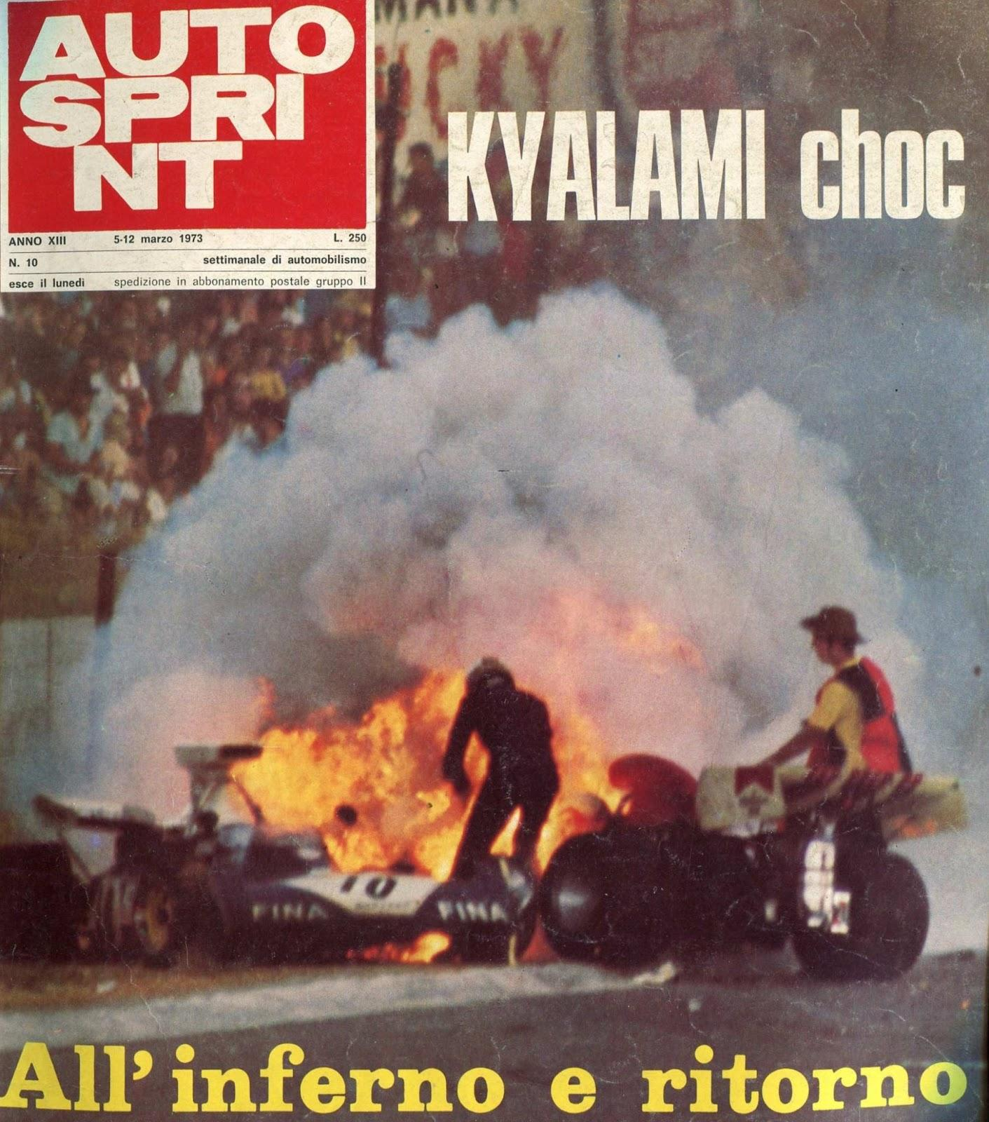 Image result for 1973 clay regazzoni hailwood accident