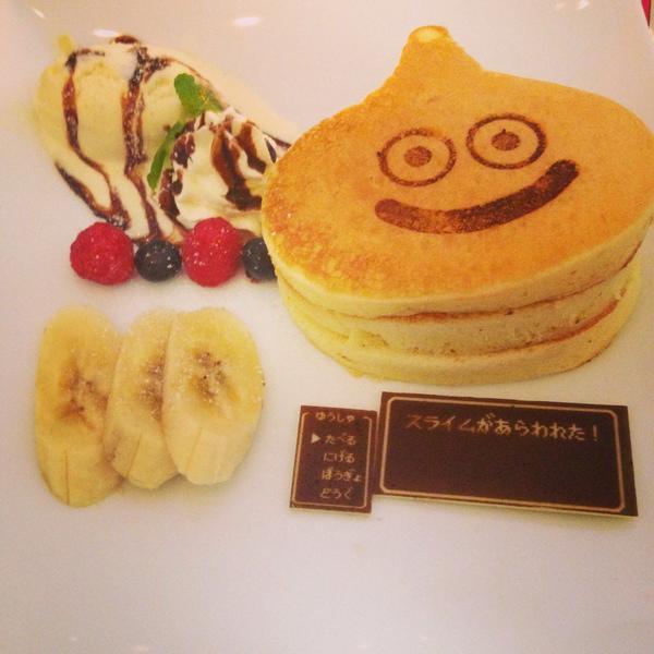 しょこたんがこれの写真をツイートしたみたいだがそれへのリプを見るに結構知られてないのか。ARTNIAという東新宿のスクエニグッズショップにカフェがあってそこで食べられるよー美味しかった!http://t.co/fuUWlWZwSS http://t.co/bQlSHxFEqe