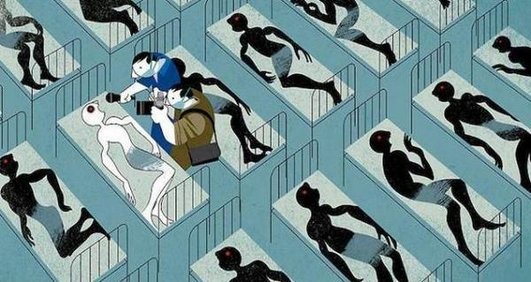 Ebola RT @YNasief: ايبولا.  بريشة اندريه كاريللو http://t.co/qAR9KYLXe8