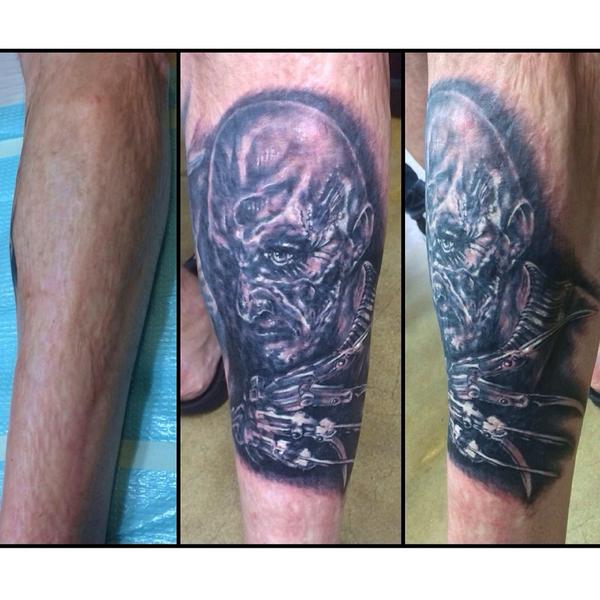 Trap Ink Tattoos On Twitter Made This Freddykrueger Tattoo On